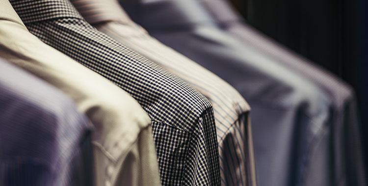 stijlvolle overhemden in de winkel